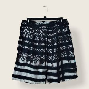 Peruvian Connection A-Line Full Printed Skirt 6